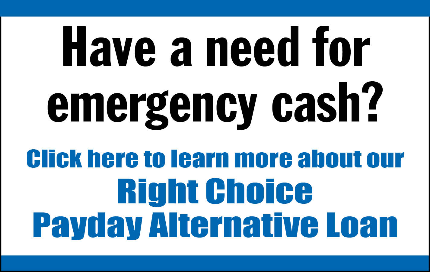 Payday Alternative Loan